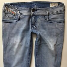 LADIES DIESEL MATIC Stretch SLIM Tapered Faded Blue JEANS W31 L30 (558)
