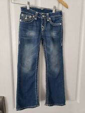 True Religion Girls Bootcut Jeans Denim Blue Size 6