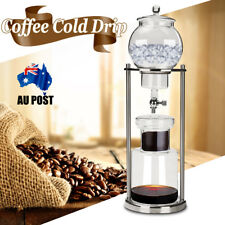 1000ML Dutch Coffee Cold Brew / Drip Coffee Maker Ice Water Dripper For 10 Cups