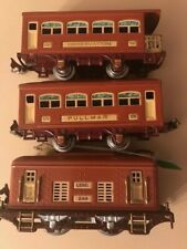 PREWAR LIONEL #248 Electric locomotive Runs *Strong* & 2 pass cars 1927-32  NR