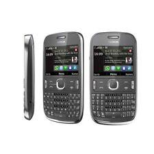 ORIGINAL Nokia Asha 302  UNLOCKED Cellular Phone Warranty 3G Bluetooth Black