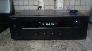 Onkyo Model TX-8020 2 Channel Stereo Receiver W/ REMOTE BUNDLE