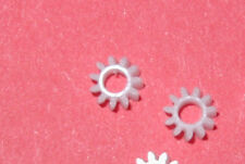 MDC Roundhouse SHAY Axle Gears. 2 Pcs. White 11 T for RTR engines and late kits