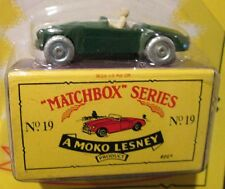 1956 MG MIDGET ~ LIMITED EDITION ~ Matchbox Recreation Originals No. 19. ON CARD