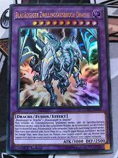 Yu-Gi-Oh! Blauäugiger Zwillingsausbruch-Drache LCKC-DE058 Ultra Rare