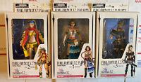 Play Arts Lot Rikku Yuna Paine Final Fantasy X-2 Square Enix Figure New RARE