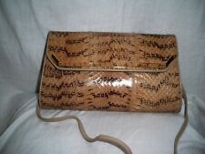 Ladies Snakeskin Handbag with Strap Pre-Owned