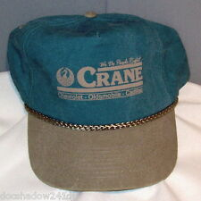 CRANE Chevrolet-Olsmobile-Cadillac Embroidered Green Algodon Ball Cap by Cobra