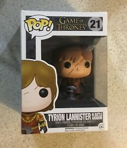 Game of Thrones - Tyrion Lannister (In Battle Armour) Funko POP Vinyl Figure
