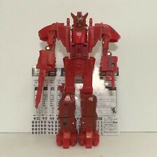 Transformers Sixtrain Red Mode! Micromaster Combiner 2003 Takara Japan Chase Set