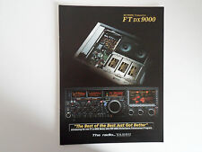 Yaesu FTDX - 9000 (solo BROCHURE ORIGINALE)... RADIO _ Trader _ Irlanda.