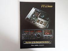 Yaesu Ftdx - 9000 (sólo Folleto Original)... radio _ trader _ Irlanda.