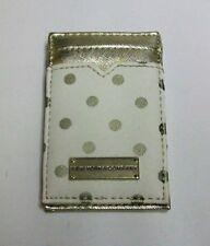 Flip Style Wallet Brand New - New York & Company Gold & Polka Dot