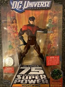 NIGHTWING DC UNIVERSE  RED VARIANT TRU EXCLUSIVE NEW IN Box