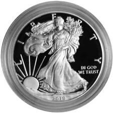 2019-S Proof $1 American Silver Eagle Box OGP & COA