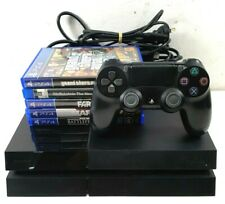 Sony Playstation 4 PS4 500GB Black Gaming Console CUH-1002A + 5 Games - From $1