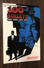 100 BULLETS Volume 1 TPB -- First Shot Last Call -- Brian Azzarello