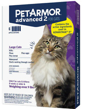 PetArmor Advanced 2 for Large Cats Over 9 lbs, 6 Months Application