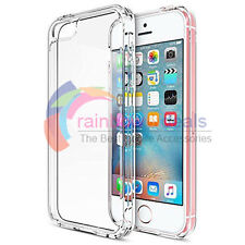 For Apple iPhone 5 SE/5/5S Case Crystal Clear Transparent Hard Bumper Case Cover