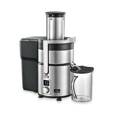CHEFMASTER ELECTRIC JUICE EXTRACTOR WHOLE FRUIT JUICER 1000W METALLIC FINISH 1kW