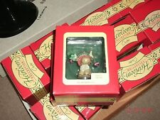 1993 Carlton Cards ALL DECKED OUT(REINDEER)Christmas Ornament