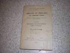 1910.abbayes prieurés ancienne France / Besse.T3 : provinces d'Auch & Bordeaux