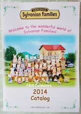 SYLVANIAN FAMILIES TOYS DOLLS 2014 CATALOG CATALOGUE BROCHURE NEW