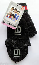 1D ONE DIRECTION MITTEN GLOVES Harry, Liam, Louis, Niall and Zayn