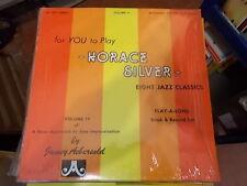 HORACE SILVER EIGHT JAZZ CLASSICS VOLUME 17 JAMEY AEBERSOLD LP