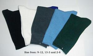Bulk Back To School Special Deal 9 Pairs Kids School Socks