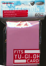 10x MAX Protection 60ct YUGIOH Pink Deck Protector Sleeves NEW!