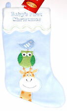 """Baby's First Christmas Stocking,16"""" Long, New w/Tag!"""