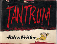 TANTRUM by Jules Feiffer (1979) Alfred Knopf HC comics