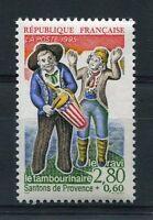FRANCE 1995 timbre 2978, SANTONS DE PROVENCE, TAMBOURINAIRE et le RAVI, neuf**