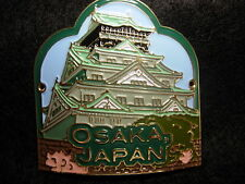 Japan Osaka unused badge stocknagel hiking medallion G9873