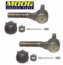 For Chrysler 300port Dodge 880 D100 D200 Set Front Inner Tie Rod Ends Pair Moog