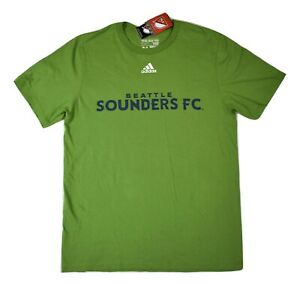 adidas Mens Seattle Sounders FC Football Club Soccer Shirt NWT S,M, L, XL, 2XL