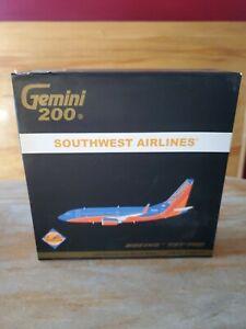 "Gemini 200 SOUTHWEST AIRLINES Boeing 737-700. Reg: N252WN. Item # G2SWA187 ""NEW"""