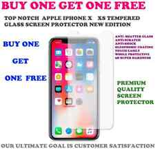 for Apple iPhone X - 100 Genuine Tempered Glass Film Screen Protector