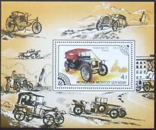 Mongolia 1986 -Transports Vehicles,Old cars- 1 S/Sh., MNH, MG 074/L