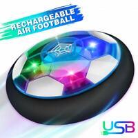 Luftkissen Fußball Schwebender Ball mit LED und Farbwechsel, Hover ball Kinder