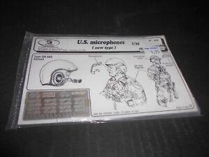 ROYAL MODELS 019, 1/35 U.S. MICROPHONES (NEW TYPE) PHOTO ETCH SET