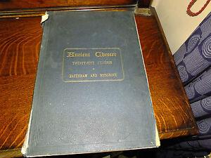 Ancient Chester A Series Of Illustrations Batenham & Musgrove 1880