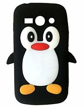Black Silicone Penguin Phone Case / Cover for Samsung Galaxy Core Plus