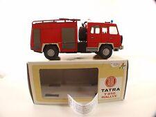 Kovap Czech camion Tatra feuerwehr pompier en tôle 17 cm neuf en boite