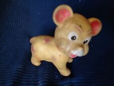 Child Toy Pouet Dog Pig without Wheel Vintage a Clean Old