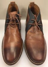 Cole Haan Men 8 M US Graydon Chukka Woodbury Brown Lace Up Ankle C24141