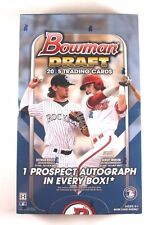 2015 Bowman Draft Picks & Prospects Baseball Hobby Box (1 Auto) Factory Sealed!
