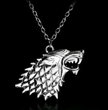Game of Thrones Stark Direwolf Dire GOT Pendant Necklace birthday christmas 009