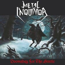 METAL INQUISITOR - DOOMSDAY FOR THE HERETIC (RE-RELEASE)  VINYL LP NEW+
